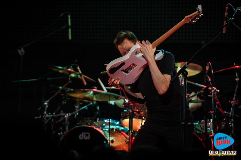 Paul Gilbert en concierto Madrid 2016.5