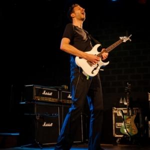 Paul Gilbert en concierto Madrid 2016.4