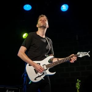 Paul Gilbert en concierto Madrid 2016.7