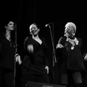 Marta High presentó su nuevo disco Singing For The Good Times en Madrid.4