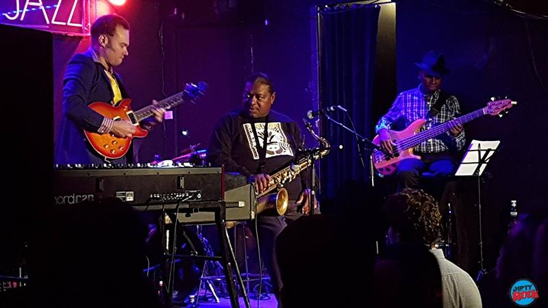 Pee Wee Ellis en concierto Madrid 2016.5