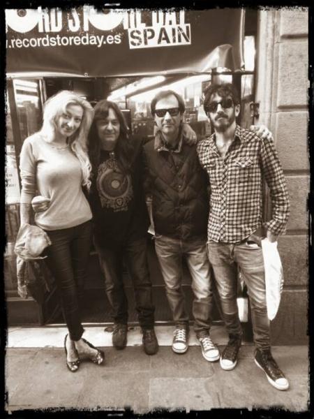 Discos Revolver cumple 25 años de música en Barcelona Jesús Moreno, Óscar Moon y Jordi Güell