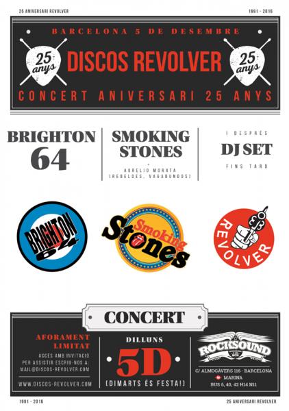 Discos Revolver cumple 25 años de música en Barcelona