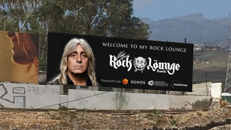 Mikkey Dee de Motörhead y Scorpìons inaugura el Rock Löunge Arona Tenerife 2016