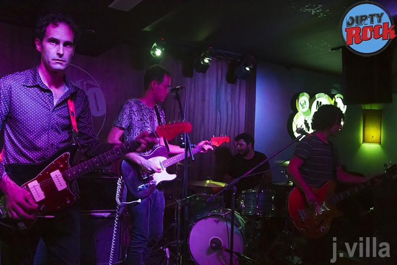 Los Embajadores en concierto Mojo Club Las Palmas 2016