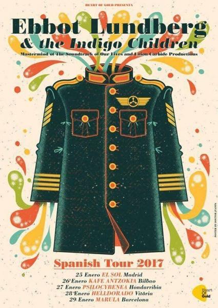 Ebbot Lundberg & The Indigo Children anuncian gira y nuevo disco For The Ages To Come
