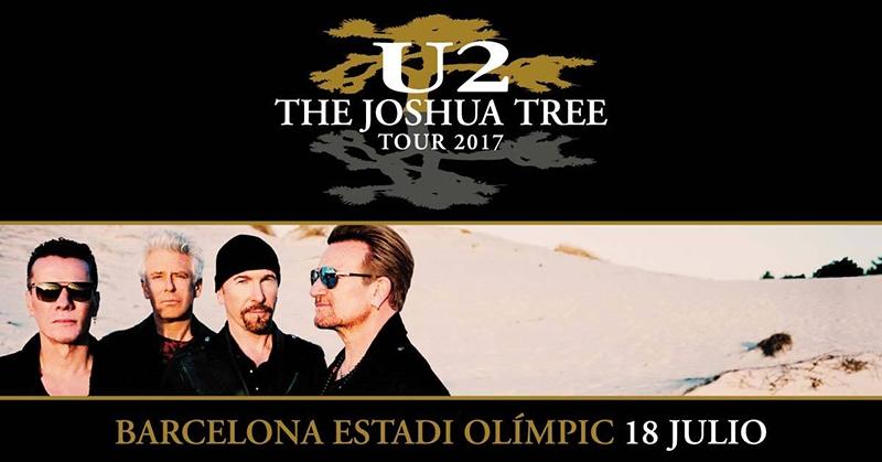 U2 actuará en Barcelona en el The Joshua Tree Tour, única fecha en España