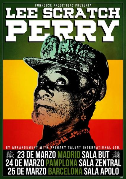 Lee Scratch Perry anuncia conciertos en Madrid, Pamplona y Barcelona