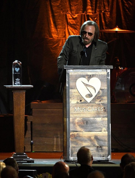 Tom Petty Persona del Año Musicares 2017