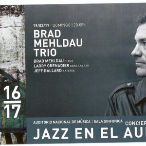 Jazz en el auditorio brad mehldau