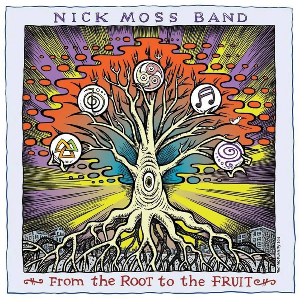 Gira española de Nick Moss Band para presentar From the Root to the Fruit 2017