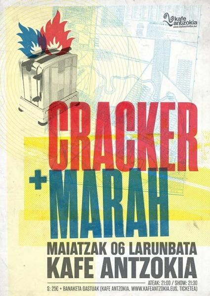 Concierto de Cracker y Marah en Bilbao mayo 2017