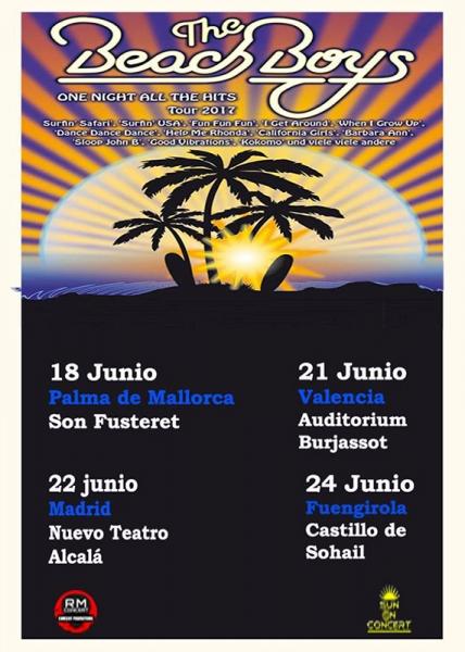 The Beach Boys anuncian gira española