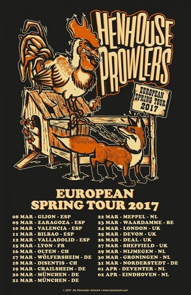 Henhouse Prowlers gira española 2017
