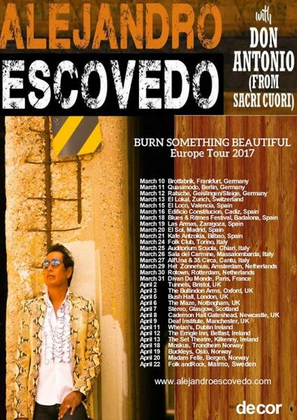 Entrevista a Alejandro Escovedo Don Antonio gira española