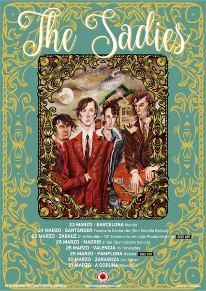 The Sadies Entrevista gira 2017