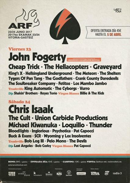 Psychotica sustituye a The Dead Daisies en el cartel del Azkena Rock Festival cartel