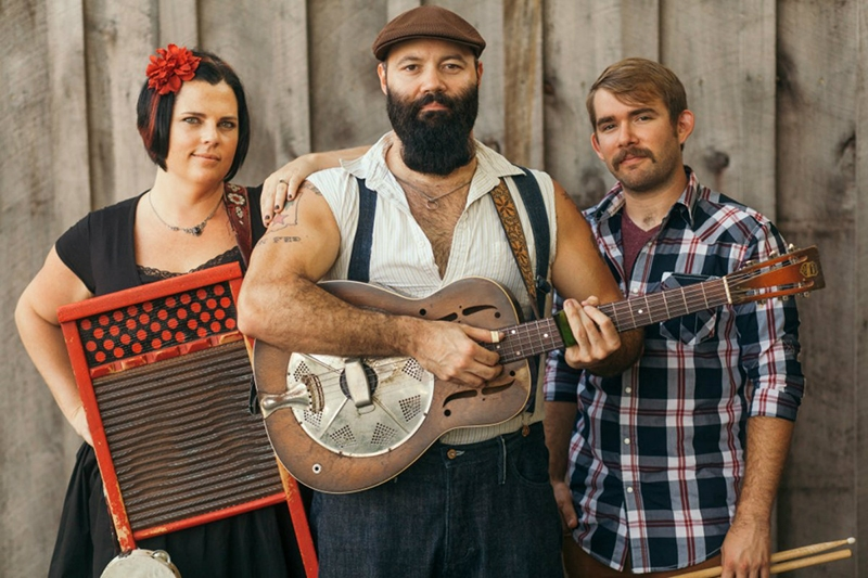 Reverend Peyton's Big Damn Band publican nuevo disco Front Porch Sessions 2017