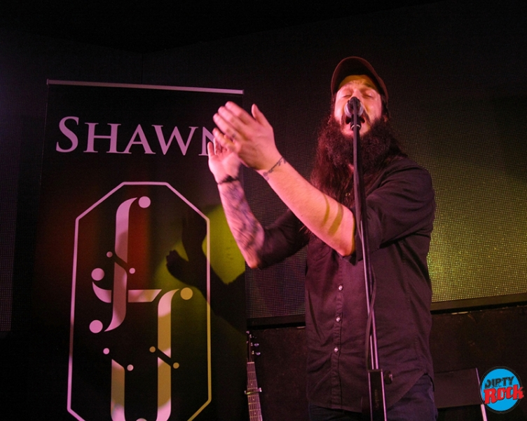 Shawn James en Madrid 2017
