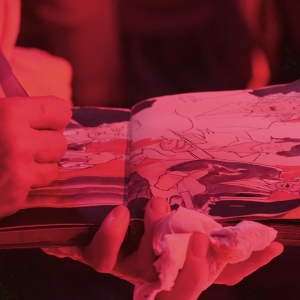Cayetana Álvarez pintar música.2