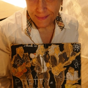 Cayetana Álvarez pintar música.18