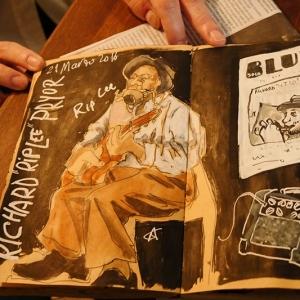Cayetana Álvarez pintar música.4