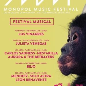León Benavente En la Selva Monopol Music Festival 2017