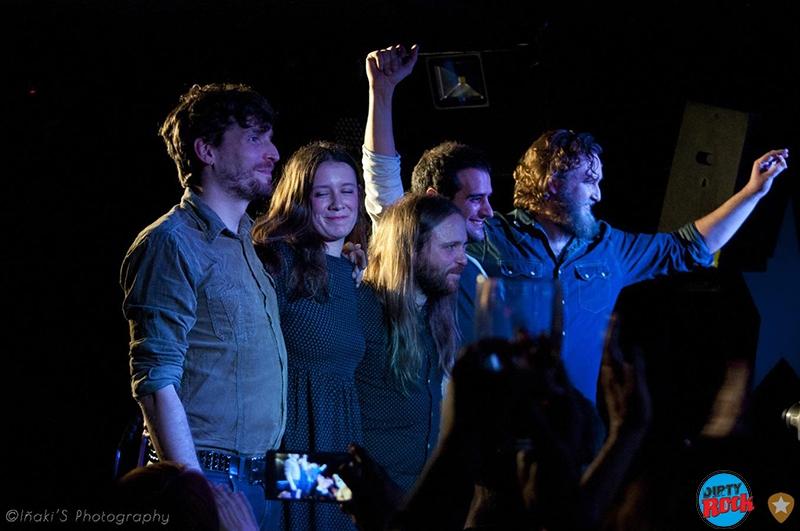 Morgan presentó North en Valencia Loco Club.