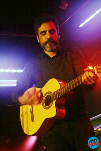 Santi Campos concierto La Huerta Sala Clamores Madrid.2