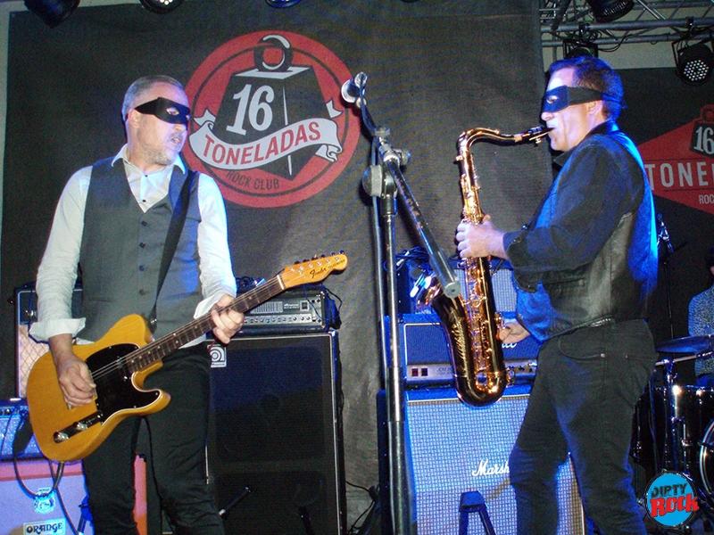 Soul Bandidos abriendo para The Fuzztones 2017