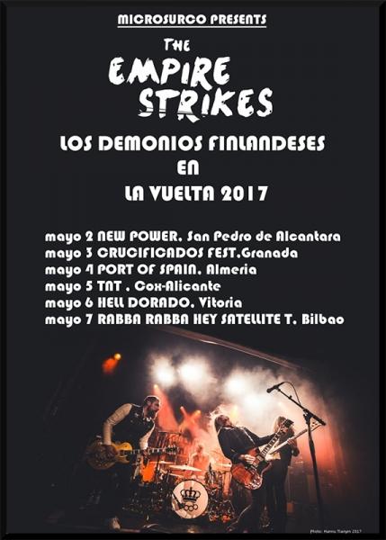 Entrevista a The Empire Strikes, gira española para presentar High Tide