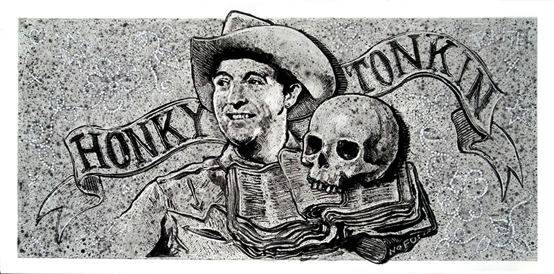Jon Langford en Madrid American Icons In The Zombie State