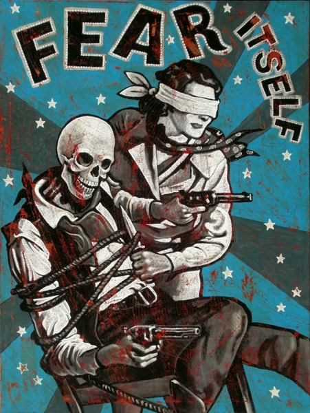 Jon Langford expone en Madrid American Icons In The Zombie State 2017