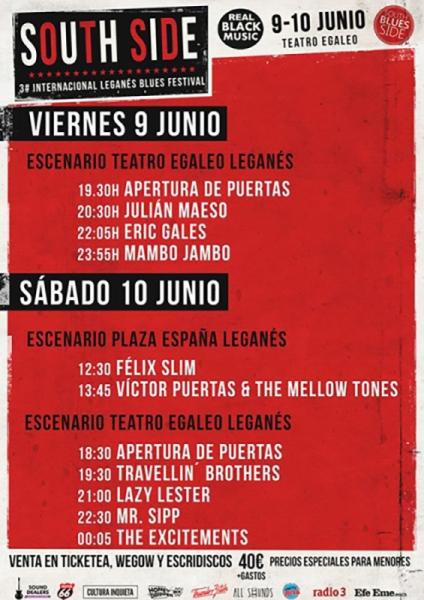 Entrevista Los Mambo Jambo en el Leganés Blues Festival 2017