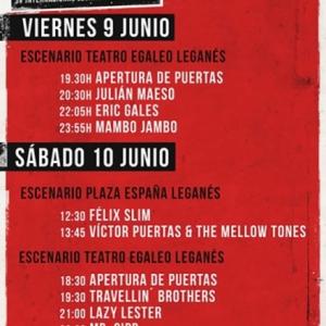 Entrevista Travellin Brothers en Leganés Blues Festival 2017
