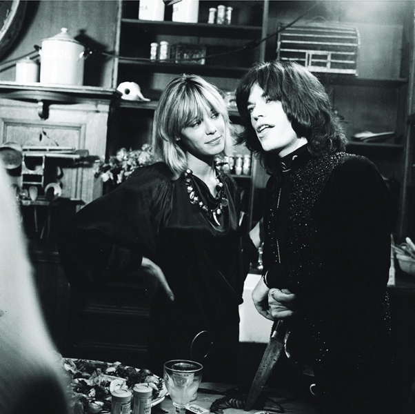 Adiós a Anita Pallenberg, con Mick Jagger