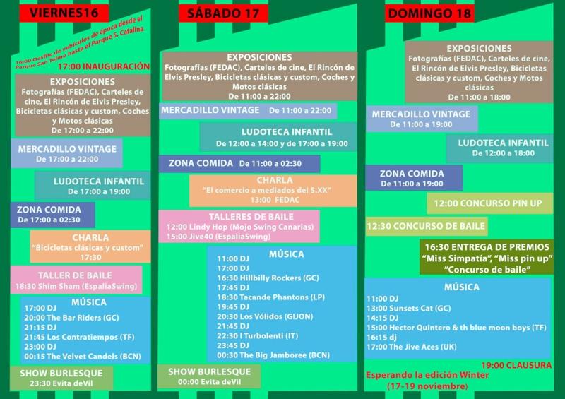 Rockin´ Doo Wop Gran Canaria Festival02