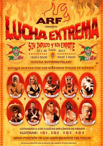 Azkena Rock Festival 2017 Lucha extrema mejicana