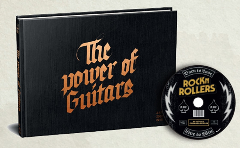The Power of Guitars Azkena Rock Festival Rocknrollers DVD