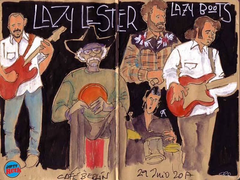 Lazy Lester and Lazy Boots Madrid 2017