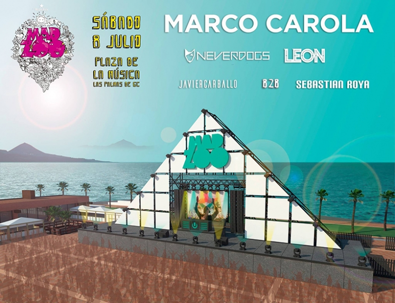 Marco Carola en Las Palmas 2017 Madzoo festival