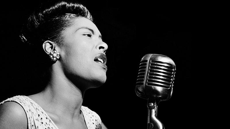 Billie Holiday canciones de julio