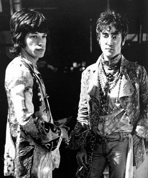 Jagger y Lennon canciones de julio