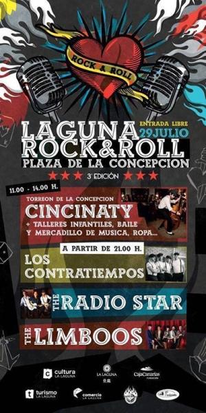 The Limboos, The Radio Stars y Los Contratiempos en la 3ª edición del Laguna Rock&Roll