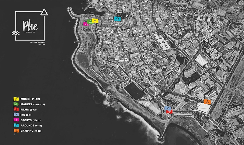 Phe Festival Puerto de la Cruz Tenerife 2017