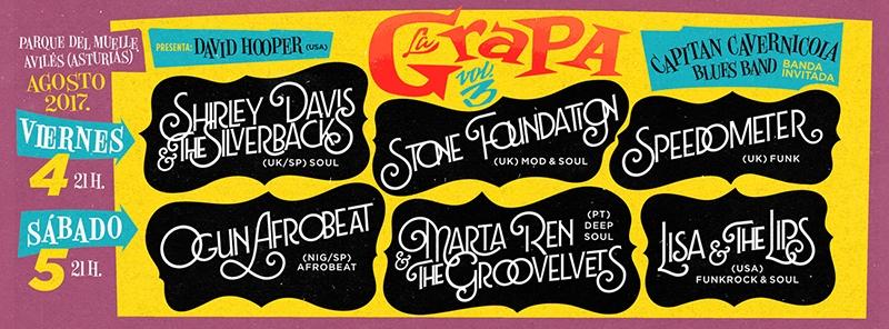 La Grapa Black Music Festival 2017.