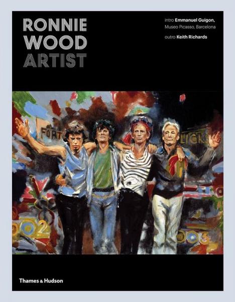 Primera aparición pública de Ronnie Wood Artist nuevo libro 2017.3
