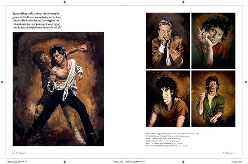 Ronnie Wood Artist nuevo libro 2017.6