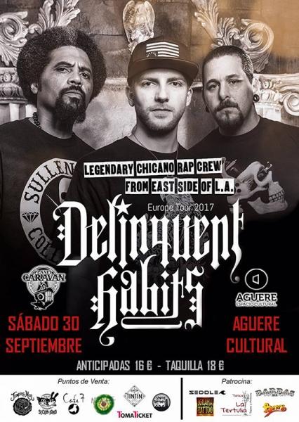 Delinquents Habits anuncian nuevo disco y conciertos en Barcelona, Madrid y Tenerife 2017