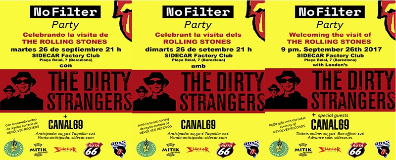 40x5 Tributo Dirty Strangers Barcelona